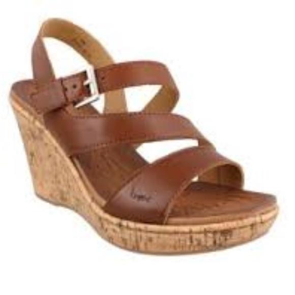 c51b1cd4bca9b b.o.c. Shoes - B.O.C Born Concept Brown Schirra Wedge Sandal 9M